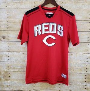 Cincinnati Reds mens tshirt Jersey